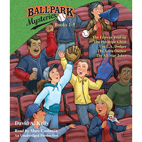 Ballpark Mysteries Collection: Books 1-5 audiobook cover art