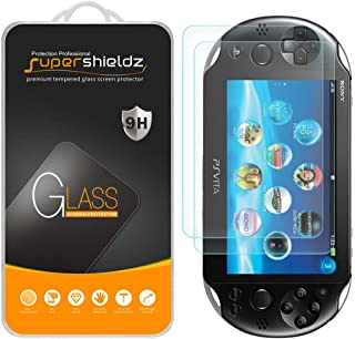 (2 Pack) Supershieldz for Sony Playstation Vita PCH-1000 Tempered Glass Screen Protector, 0.33mm, Anti Scratch, Bubble Free