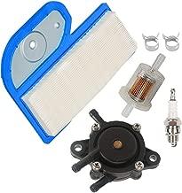 HIFROM Air Filter Fuel Filter Fuel Pump Spark Plug fit for FH451V FH500V FH531V 580V Replaces Kawasaki 11013-7002 John Deere M137556 Ariens 21538200 Gravely 21538200 Cub Cadet 490-200-0004