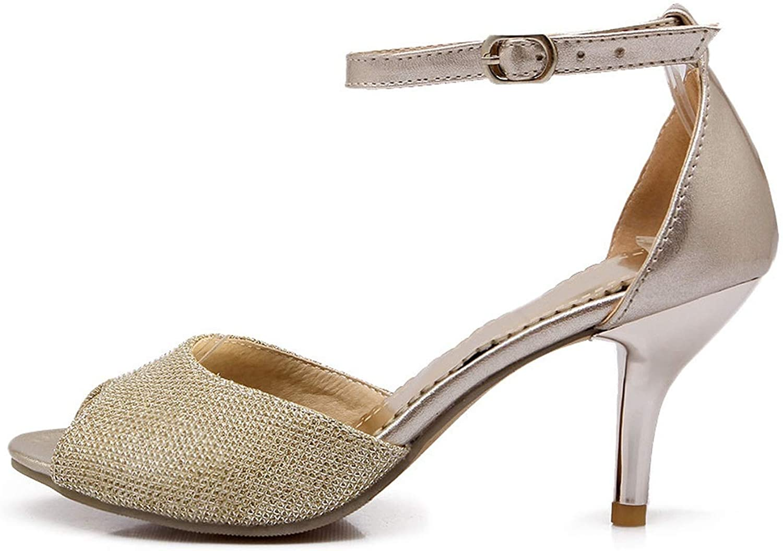 Women Sandals Summer Fashion Peep Toe Sexy Thin Heels Shallow Simple Elegant shoes Woman