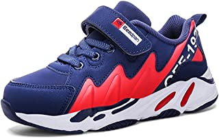 LGXH Breathable Boys Girls Casual Walking Sneakers Non-Slip Kids Sport Athletic Running Tennis Shoes