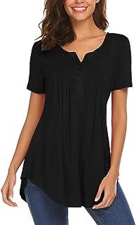 2c52df02ba9 Amazon.es: tallas grandes mujer - Blusas y camisas / Camisetas, tops ...