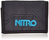 Nitro Snowboards Wallet, Monedero 14 cm, Blur-Blue Trims