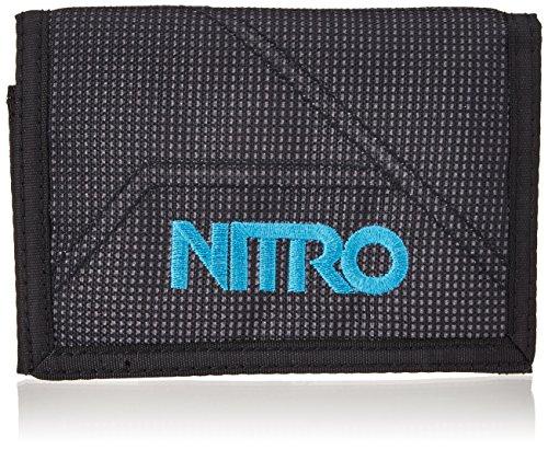 Nitro Snowboards 2018 Portamonete, 14 cm, Grigio (BlurAzul Trims)