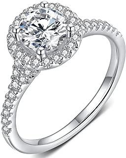 Best 1 carat cz diamond Reviews