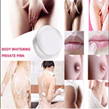 EnjoCho Whitening Soap,Crystal Soap Nipples Intimate Natural Handmade Soap Whitening Skin Cream for Private Body (Clear)