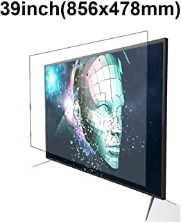 KUYUC Anti Blue Light 39 Inches TV Screen Protector, LED Eye Protection Screen Filter, Ultra-Clear Anti-Glare Screen Protector, LCD Anti-Scratch Filter Film (Color : A)