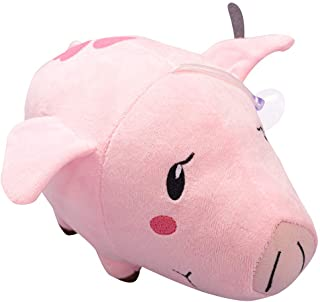 Hawk The Seven Deadly Sins Plush Doll Soft Stuffed Toys Anime Pig Hugged Pillow Gifts for Children (Pink)