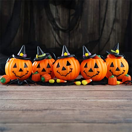 Halloween Theme Backdrop 8x6ft Vinyl Photography Background Haunted House Frontage Shiny Pumpkin Lamps Light Decors Trick or Treat Party Greeting Card Kids Baby Shoot Poster