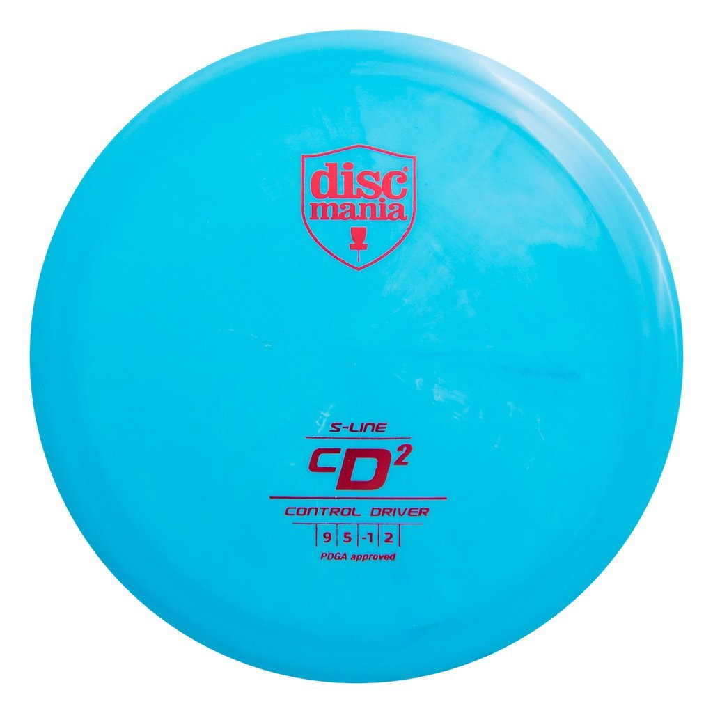 Discmania S-Line CD2 Control Driver Golf Disc [Colors May Vary]
