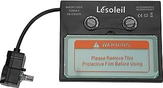 LESOLEIL Lente de Repuesto Lente de Repuesto para Pantalla LCD de Casco de Soldadura con Oscurecimiento Automático