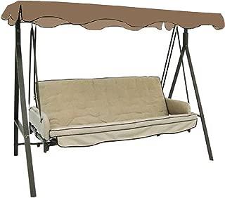 Garden Winds Replacement Canopy Top Cover for Garden Treasures 3-Person Swing - SUNBRELLA