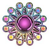 ATESSON Fidget Spinner Toys for Kids Adults, Durable Stainless Steel Bearing High Speed Metal Material Hand Spinner EDC ADHD Focus Anxiety Stress Relief Toys for Boys Girls
