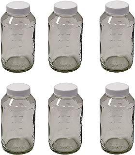 Preval 269 Glass Jar, 6-Ounce (6 JARS)