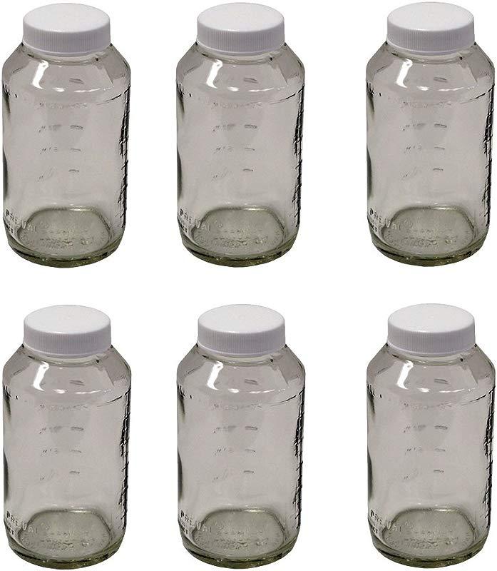 Preval 269 Glass Jar 6 Ounce 6 JARS