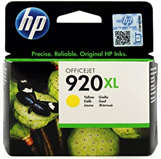 HP CD974AE 920XL High Yield Yellow Ink Cartridge