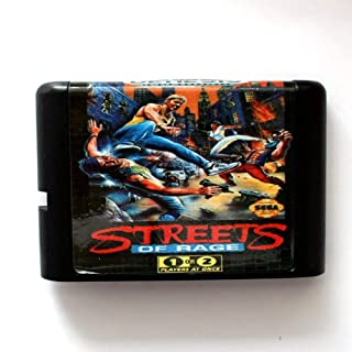 Streets Of Rage 16 bit SEGA MD Game Card For Sega Mega Drive For Genesis ,Sega Genniess-Sega Ninento,16 bit MD Game Card