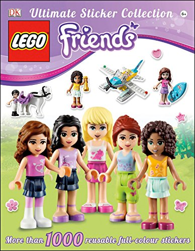 Ultimate Sticker Collection: LEGO® Friends: More Than 1,000 Reusable Full-Color Stickers