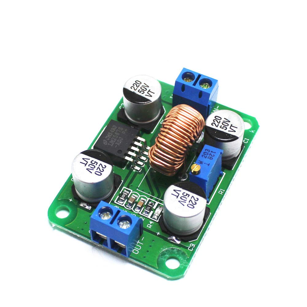 DC-DC 3.5V-30V to 4V-40V Step Up Power Supply Module LM2587 Adjustable 5A Boost Converter Voltage Regulator Board for Arduino
