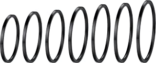 Bandmax 7 PCS Knuckle Ring Set for Women Thin Plain Band Stainless Steel 1MM Stacking Midi Finger Rings Set Jewelry Comfor...