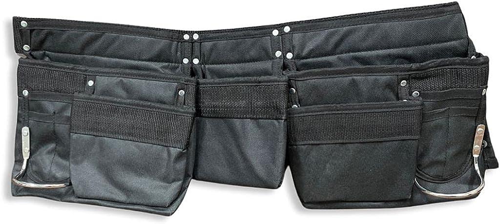 Popularity 11 Pocket black colour 600D Polyester Kids Work Tool Belt Apron National uniform free shipping