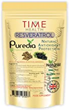 Trans Resveratrol - Premium Brand Puredia - 180 Capsules - 3 Month Supply - Effective Split Dose for Maximum Benefits from...