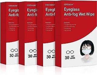 Cooskin Anti-Fog Nasswisch für Schnorchel- und Tauchausrüstung, Reinigung & Defogger in einem Schritt für alle Objektivtyp...
