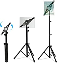 Portable iPad Tablet Tripod Adjustable Stand, Costech Universal 360° Rotatable Height Adjustable with Portable Carry Bag for 7 to 12 Inch iPad and Tablet