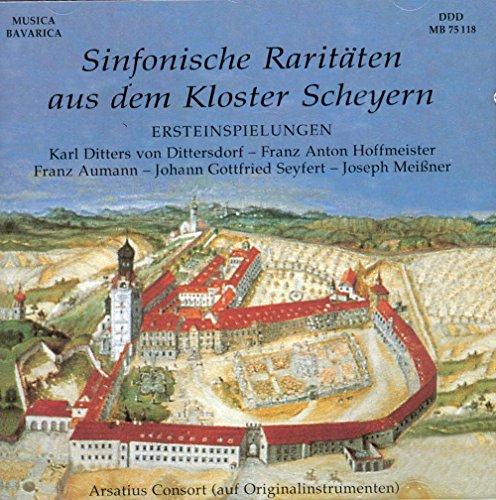 Sinfonische Raritäten aus dem Kloster Scheyern / Symphonic Rarities from the Cloister Scheyern