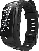 Smart Watch GPS,S908S Color Screen Activity Fitness Tracker Smart Band IP68 Waterproof GPS Heart Rate Monitor Sport Wristband Bracelet -Black