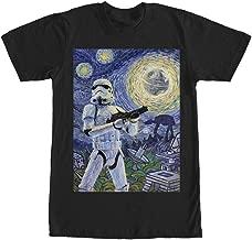 Star Wars Stormtrooper Stormy Starry Night Adult T-Shirt