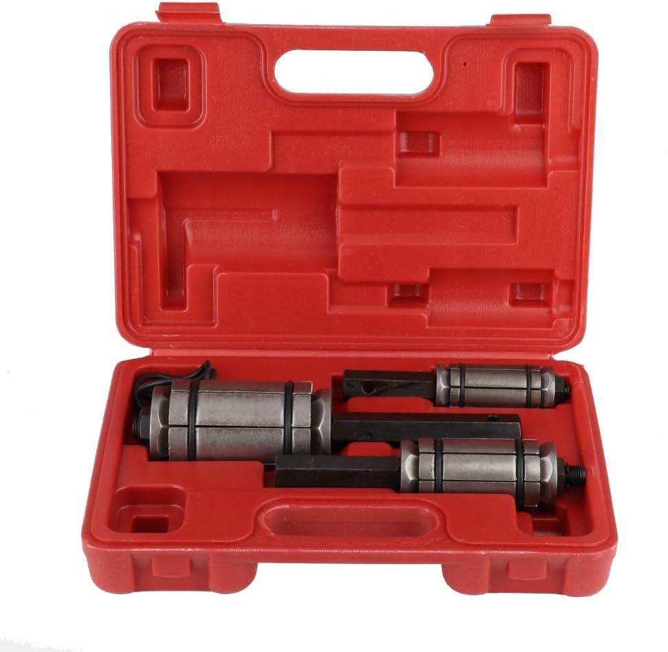 Qiilu Tail Pipe Expander Set, 3Pcs Tail Pipe Expander Exhaust Pi
