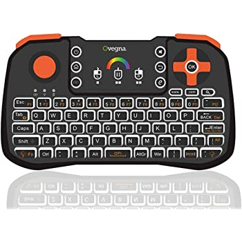 Dreamyth Druable Mini 2.4Ghz Wireless Keyboard Touchpad With Mouse For PC PS4 Smart TV New Gift,American Warehouse Shipment Black