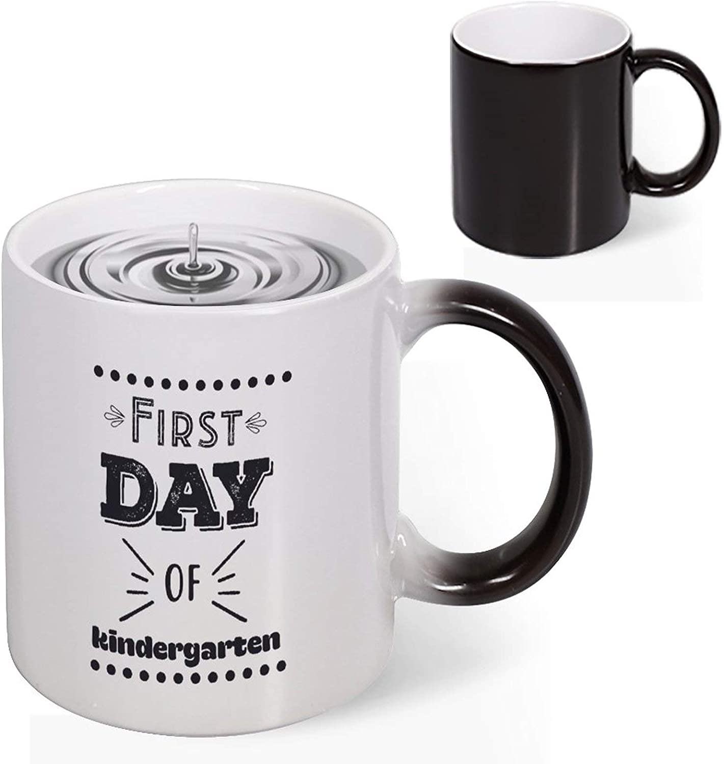Changing Color Coffee Mug Novelty Heat Large special safety price Morph Por Sensitive Heart