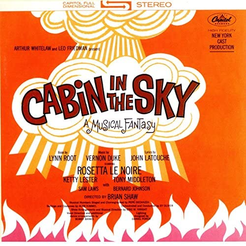 The Broadway Cast Of 'Cabin In The Sky'
