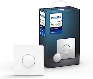 Philips Hue smart button - Bedien Lampen met één Klik - Flexibele en Draadloze Montage - Verbind met Bluetooth of Hue Brid...