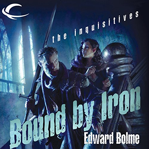 Bound by Iron audiobook cover art
