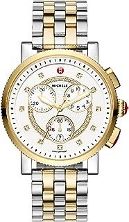Michele Women's Large Sport Sail Diamond Watch