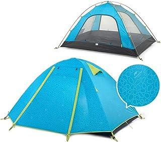 DorisAA camping tält enkel inställning dubbel aluminiumstång utomhus tält camping UPF50+ anti-UV PU2000 vattentät (färg: B...