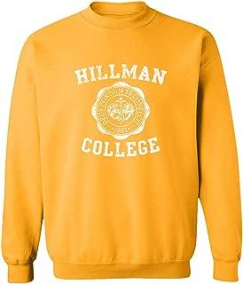 Hillman College Retro 80s Sitcom Cool Unisex Sweatshirt Crewneck Sweater