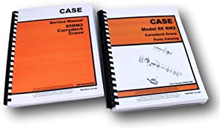 Case Drott 85Rm2 Carrydeck Crane Service And Parts Manuals Catalog Maintenance