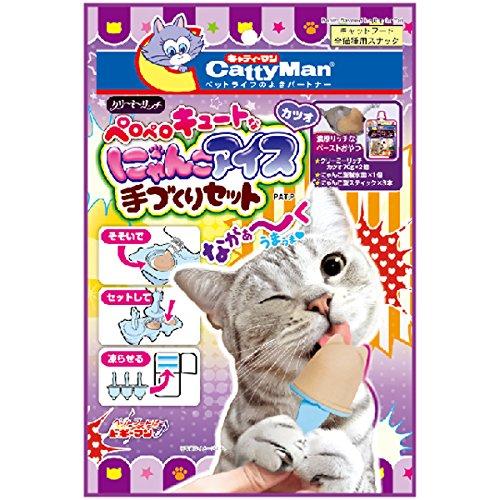 キャティーマン (CattyMan) クリーミーリッチ にゃんこアイス手づくりセット カツオ