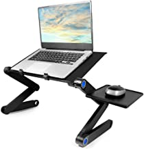 Laptop Stand, Usoun Adjustable Laptop Bed Stand, Laptop Computer Stand, Portable Laptop Notebook Stand with Mouse Pad, Compatible for MacBook Air Pro, Dell, Lenovo, Alienware Laptop