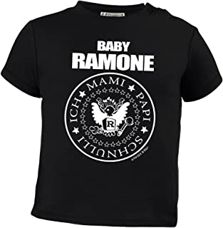 Racker-n-Roll Baby Ramone Sabber sabber Hey Baby-T-Shirt schwarz