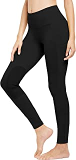 FitsT4 Women's Riding Tights Knee Patch Pull On Horse Riding Equestrian Schooling Tights