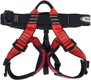 HPDOE Cinturón de Seguridad Infantil al Aire Libre Equipo de montañismo cinturón de Seguridad Color sólido