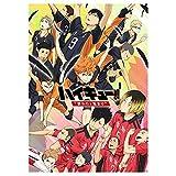 AMA-StarUK36 Anime Haikyuu!! Poster Wandaufkleber Papier