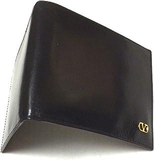 ba42278807e4 Valentino Men's Genuine Black (Nero) Leather Wallet Billfold Card Holder  4.5