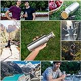 Pure Design – 350 ml Edelstahl Trinkflasche in Geschenk Verpackung - 6