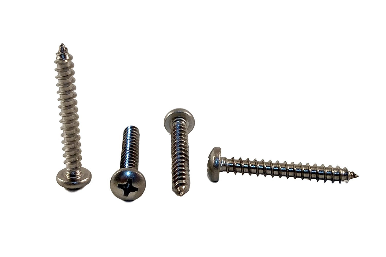 Zinc Plated Steel Pack of 75 #8 X 1//2 in Self-Drilling Prime-Line 9029599 Sheet Metal Screw Pan Head Phillips